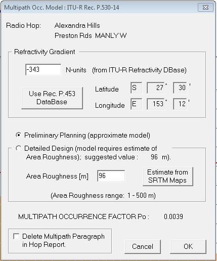 evaluate multipath